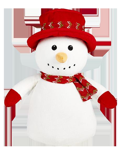 Christmas Cubbies Stuffies Snowman