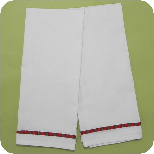 Blank White Kitchen Towels